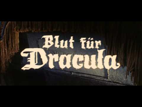 BLUT FÜR DRACULA (1966) - Deutscher Trailer