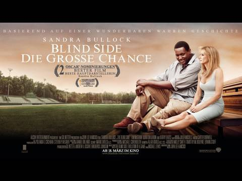 BLIND SIDE DIE GROSSE CHANCE - Trailer deutsch