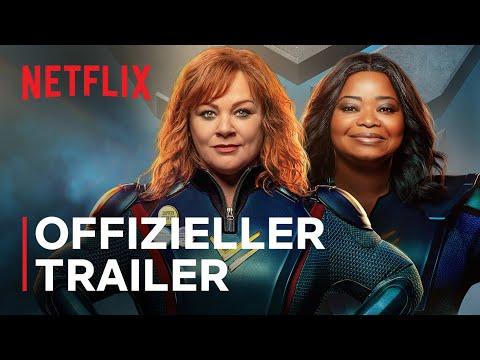 Thunder Force | Melissa McCarthy und Octavia Spencer | Offizieller Trailer | Netflix