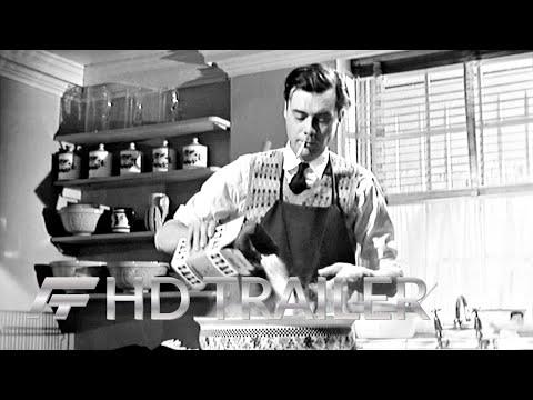 DER DIENER (1963) HD Trailer (Deutsch / German)