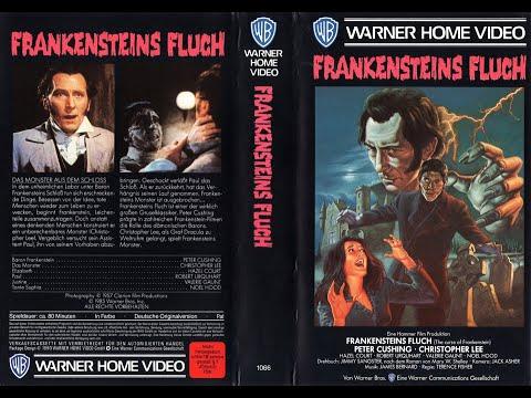 """Frankensteins Fluch (GB 1957 """"The Curse of Frankenstein"""") Video Teaser Trailer deutsch / german VHS"""