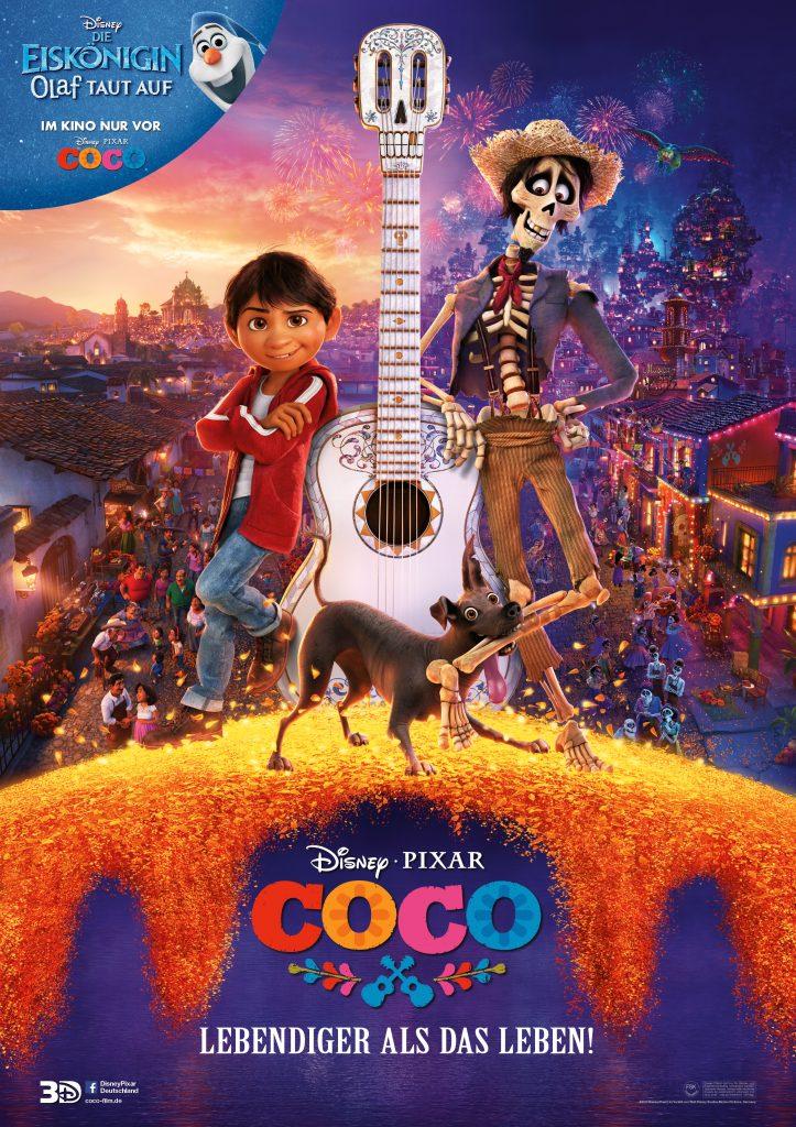 """Filmplakat zu """"Coco - Lebendiger als das Leben"""" ©Walt Disney"""