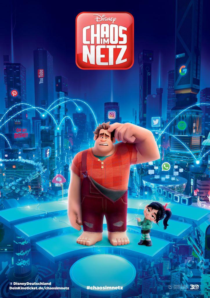 Kinoposter zu Chaos im Netz © Walt Disney Pictures