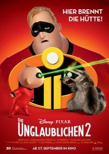 """Filmplakat zu """"Die Unglaublichen 2"""" © Walt Disney"""