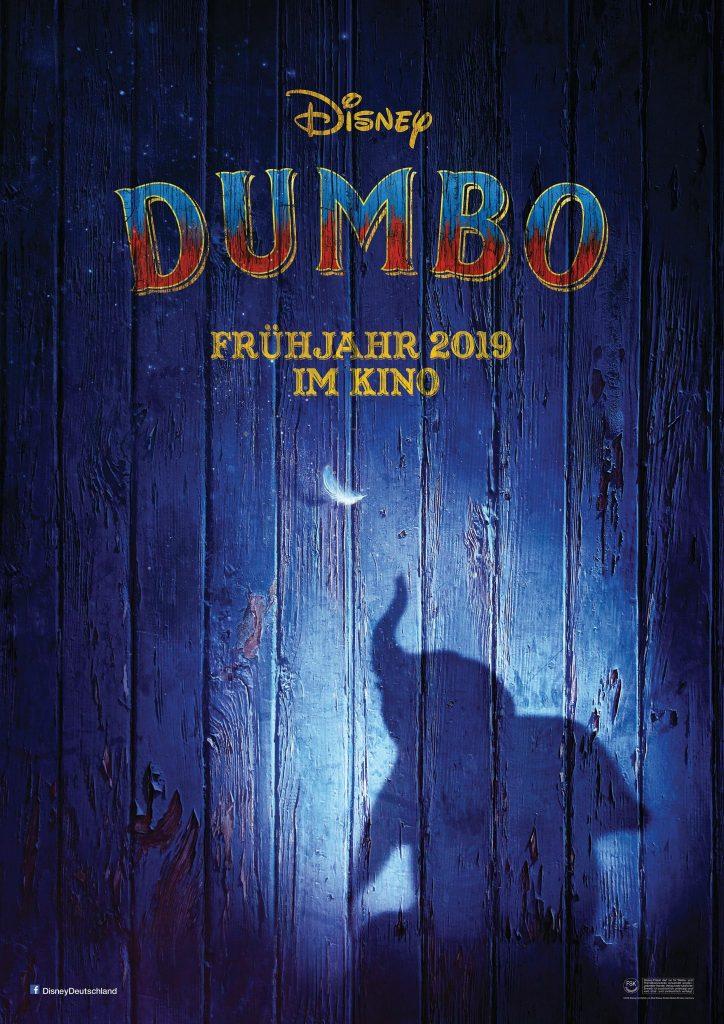 Kinoposter zu Dumbo © The Walt Disney Company Germany