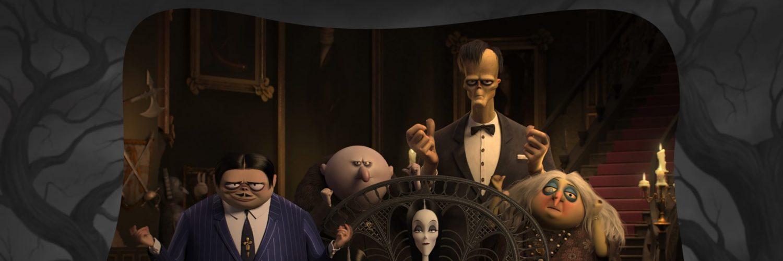 Familienporträt der Addams Family