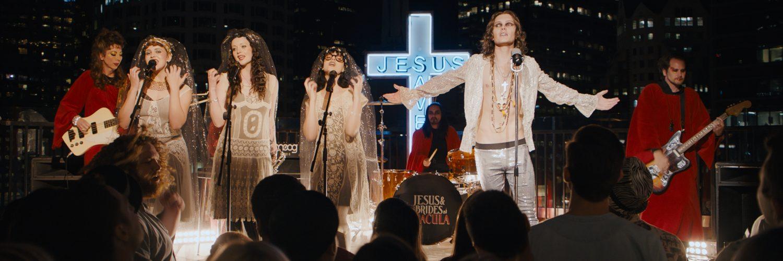 "Geheime Botschaften in den Songs von Jesus&The Brides of Dracula? ""Under the Silver Lake"" © Weltkino"