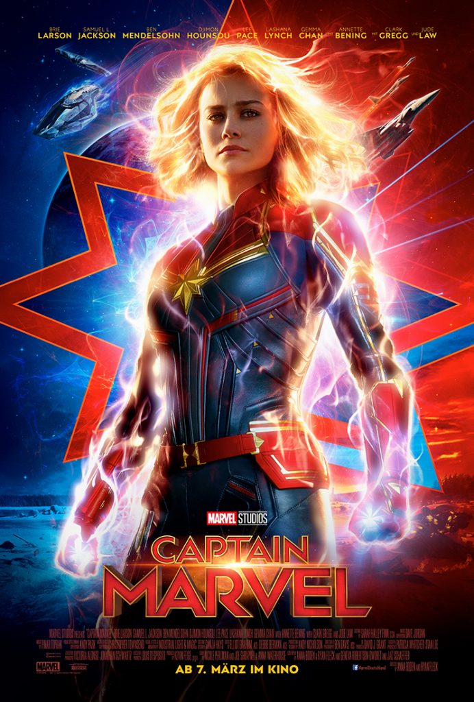 Kinoposter zu Captain Marvel © The Walt Disney Company Germany