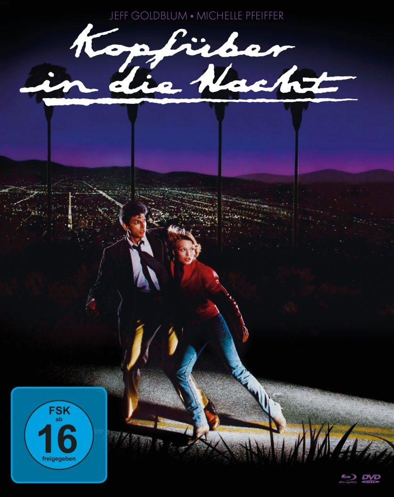 Das offizielle Bluray & DVD Cover von Kopfüber in die Nacht. © 2018 Koch Films