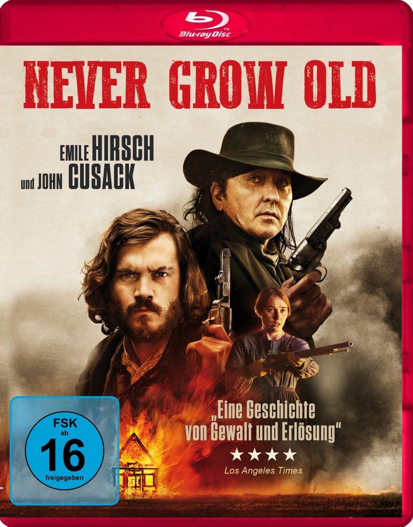 Die deutsche Blu-Ray zu Never Grow Old
