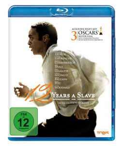 """Bluray Cover von 12 Years a slave (TOBIS). Quelle: DVD/Blu-ray 12 Years a Slave"""" ©Universal Pictures"""