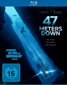 Blu Ray Cover von 47 Meters Down.