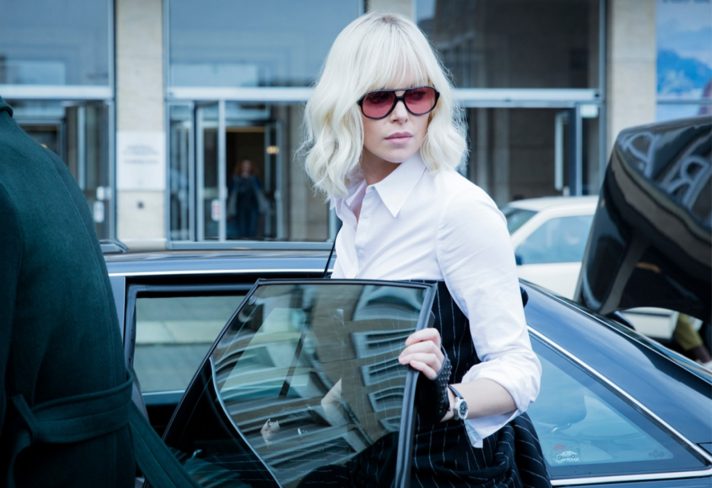 Kalt. Kälter. Charlize Theron in Atomic Blonde © Unsiversal Pictures