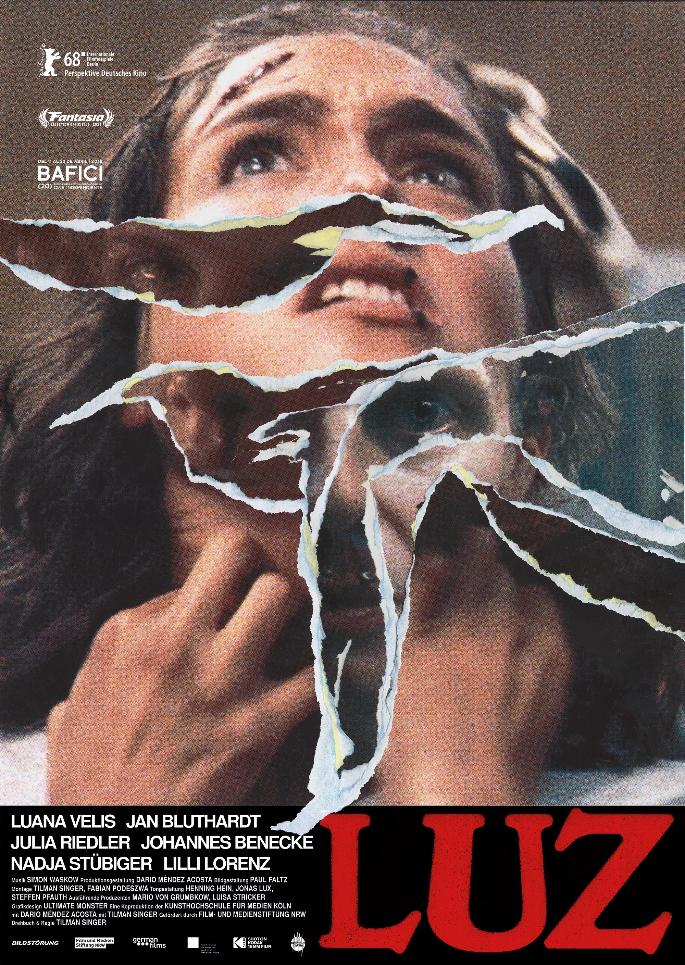 Filmposter zu LUZ © Bildstörung & Drop Out Cinema