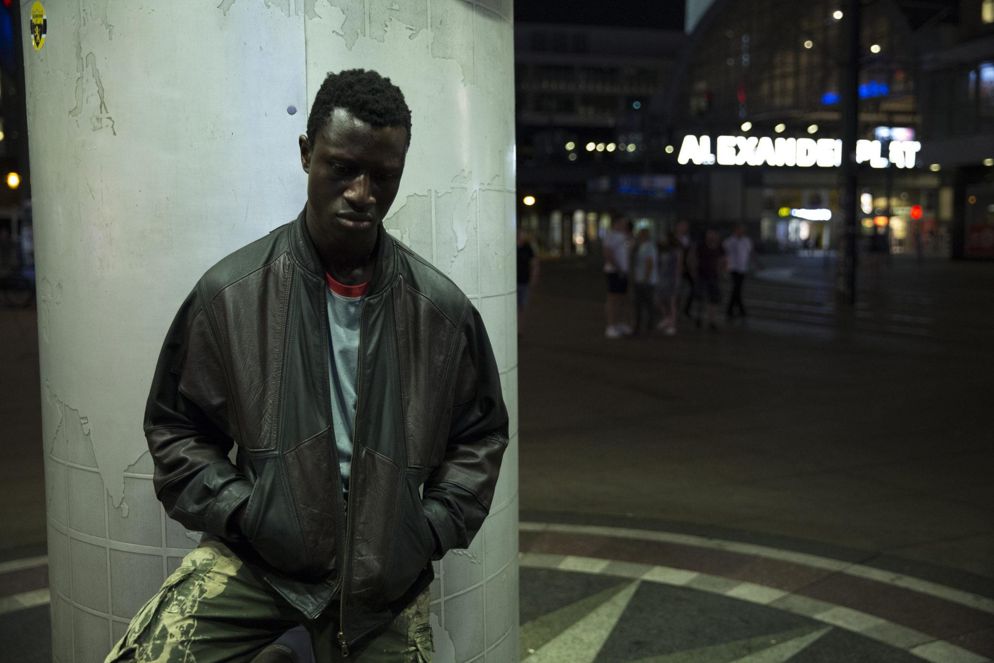 Der Protagonist in Berlin Alexanderplatz