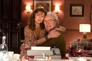 "Susan Sarandon und Jim Broadbent in der Gegenwart in ""Cloud Atlas"""