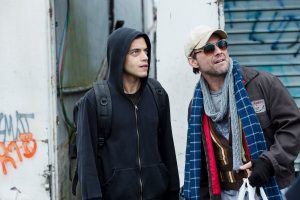 "Rami Malek und Christian Slater in ""Mr. Robot"""