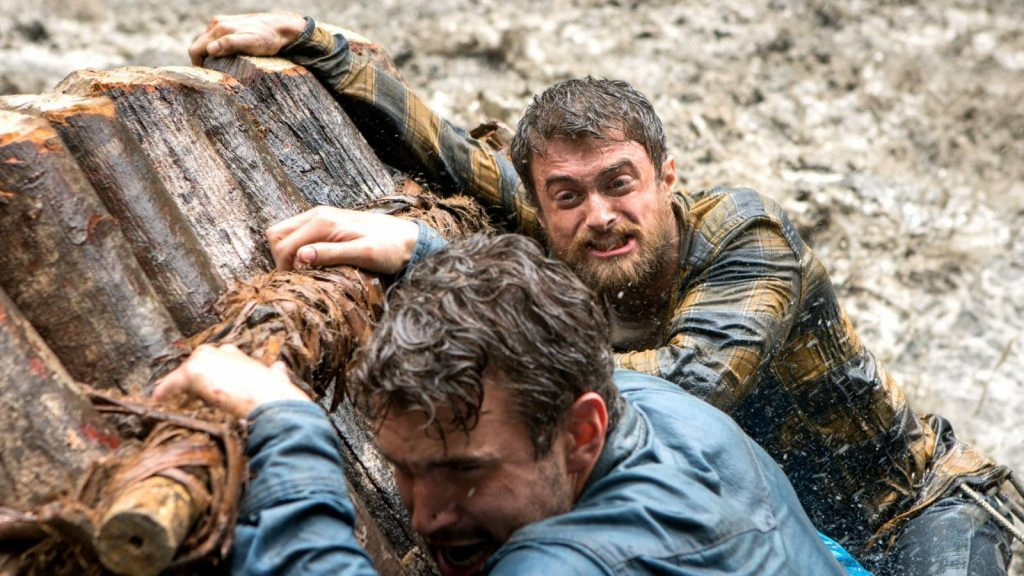 Daniel Radcliffe und Alex Russell in Jungle