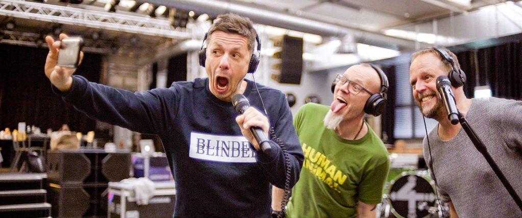 """Michi Beck sorgt in """"Wer 4 sind"""" für Spaß bei den Proben zum Konzert, Quelle: © EuroVideo"""