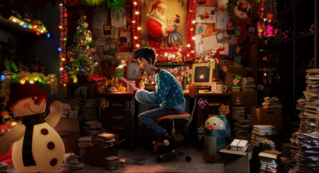 Arthur (James McAvoy) in Arthur Christmas. © SONY Pictures Entertainment 2018