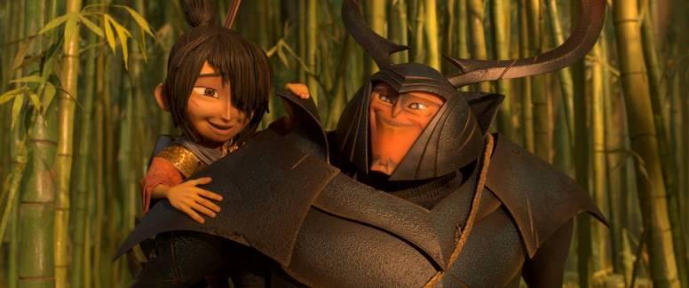 "Kubo und Beetle in ""Kubo - Der tapfere Samurai"" by Universal Pictures"