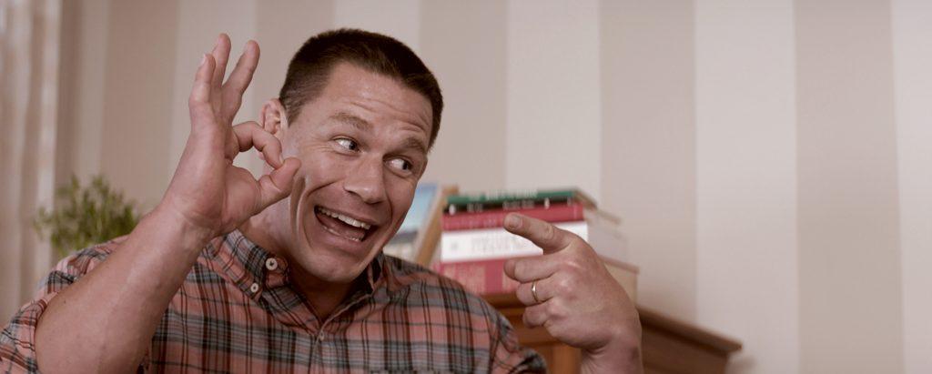 Mitchell (John Cena) deutet Sex an, ohne ihn zu praktizieren. ©Universal Pictures