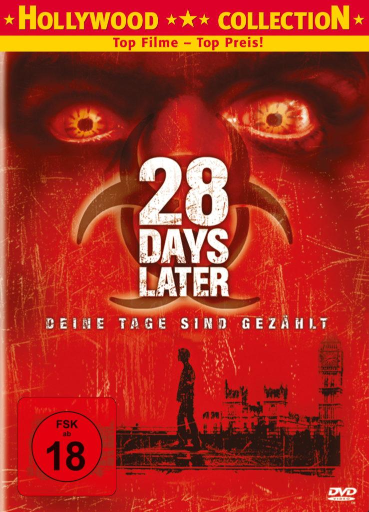 Das Cover der deutschen DVD von 28 Days Later