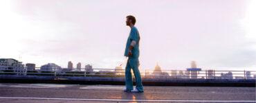 Cillian Murphy als Jim auf den leeren Straßen Londons in 28 Days Later