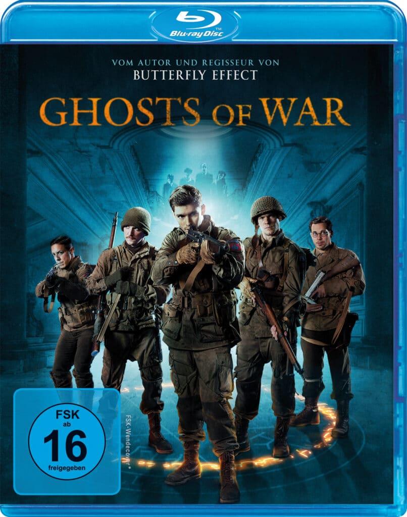 Das Cover zu Ghosts of Mars zeigt die 5-Mann-Starke Truppe.