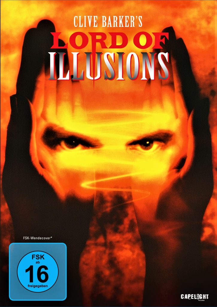 Das Cover von Lord of Illusions. © Capelight Pictures