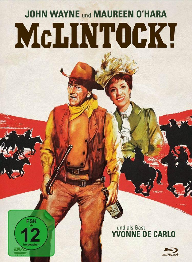 Das Mediabook-Cover von McLintock!
