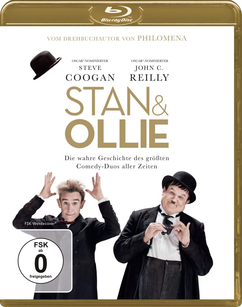 Blu-Ray-Cover, Stan & Ollie