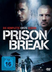 DVD Cover von Prison Break aus 2005 von ©Fox Network