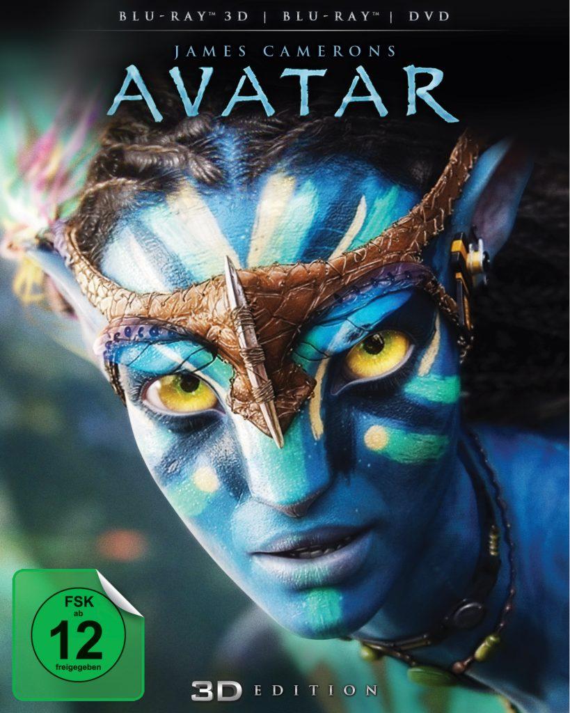 Das 3D-Blu-Ray Cover von Avatar - Aufbruch nach Pandora.© 2017 Twentieth Century Fox Home Entertainment