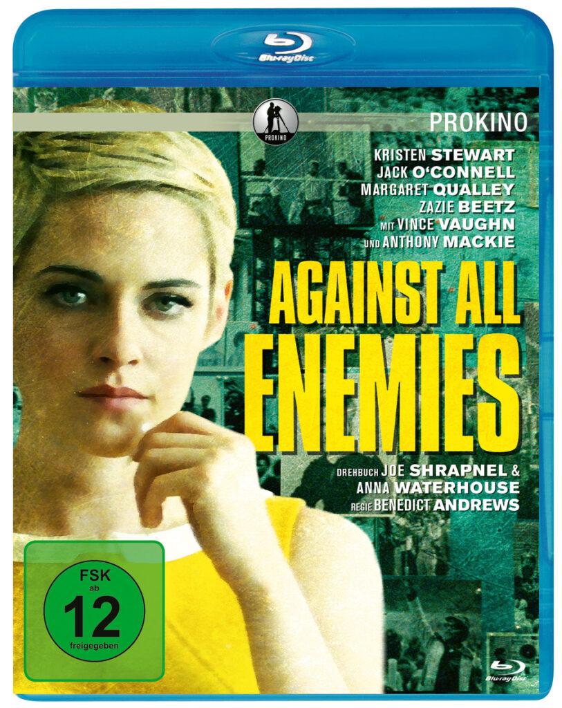 Front-Covermotiv der Blu-ray-Veröffentlichung zu Jean Seberg - Against All Enemies