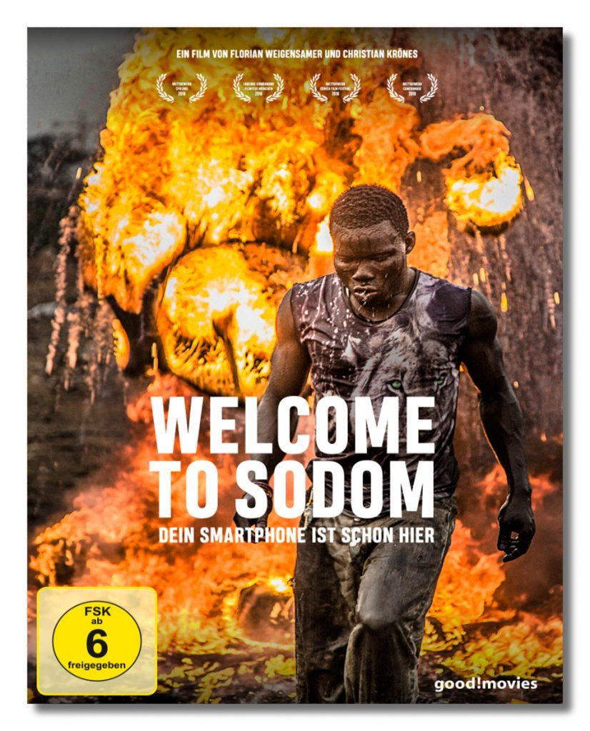 DVD- und Blu-Ray-Cover, Welcome to Sodom - Dein Smartphone ist schon hier