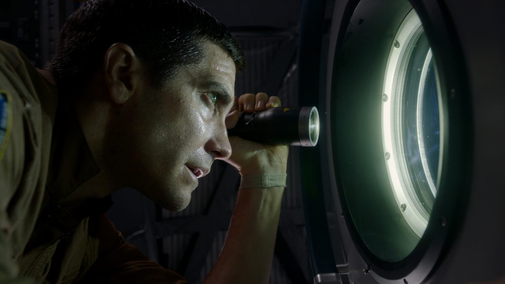 "Jake Gyllenhaal as ""David Jordan"" in ""Life"""
