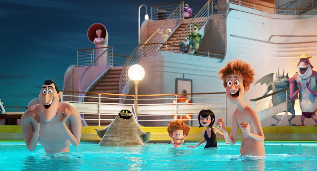 Spaß im Pool © Sony Pictures GmbH