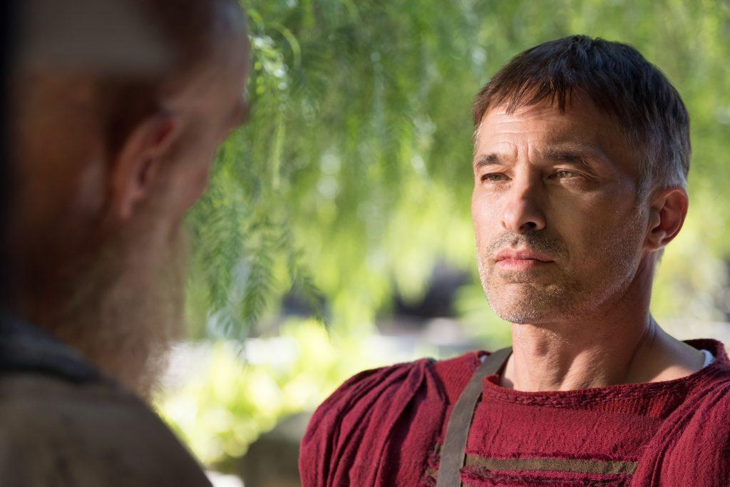 """Der römische Präfekt Mauritius Gallas (Oliver Martinez) in """"Paulus, der Apostel Christi"""" © Sony Pictures"""