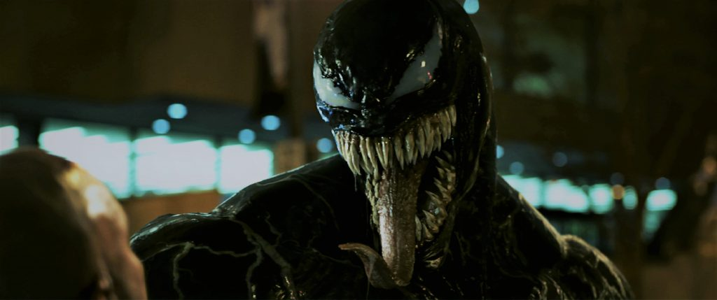 Wenn Venom erst einmal losgelegt hat, hält ihn niemand mehr auf. © 2018 Columbia Pictures Industries, Inc. and Tencent Pictures (USA) LLC. All Rights Reserved. | MARVEL and all related character names: © & ™ 2018 MARVEL.
