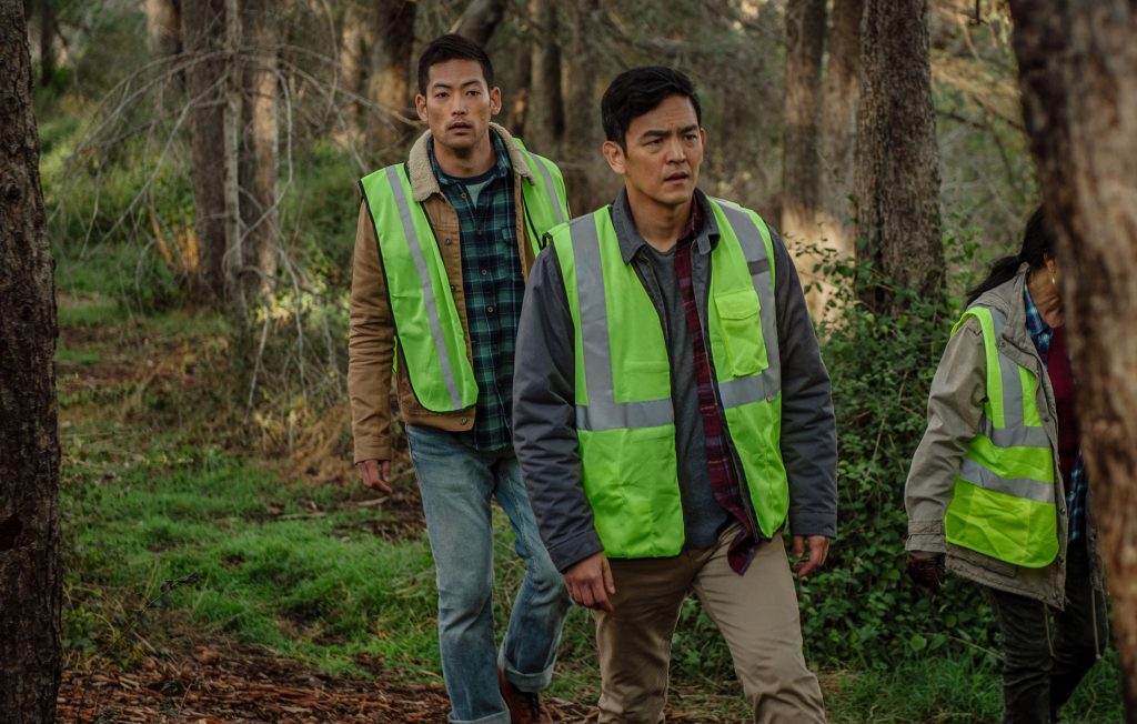 David (John Cho) sucht nach seiner Tochter © 2018 Sony Pictures Worldwide Acquisitions Inc. All Rights Reserved.