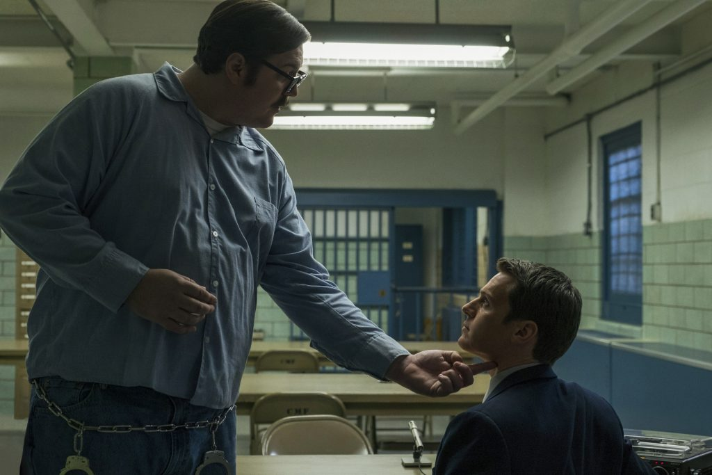 """Ed Kemper kommt Agent Ford gefährlich nahe in """"Mindhunter"""" © Netflix"""