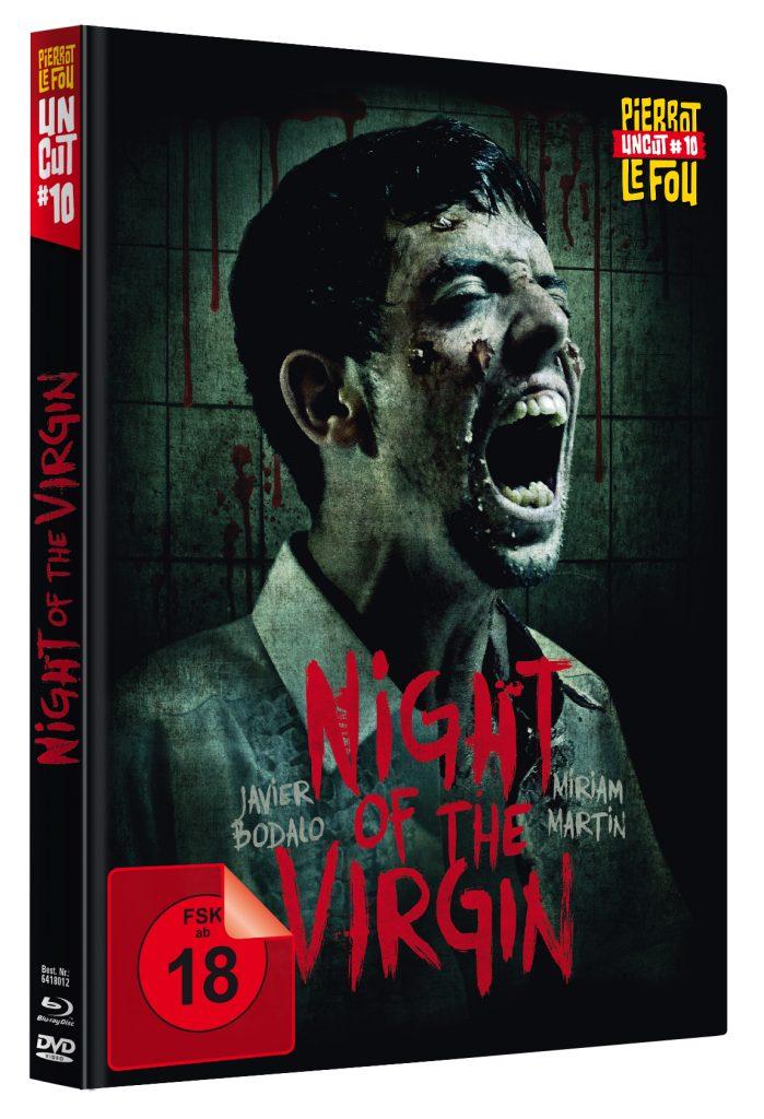 Der Film stellt das 10. Release aus der beliebten Uncut-Mediabook-Reihe dar | NIGHT OF THE VIRGIN © Neue Pierrot le Fou