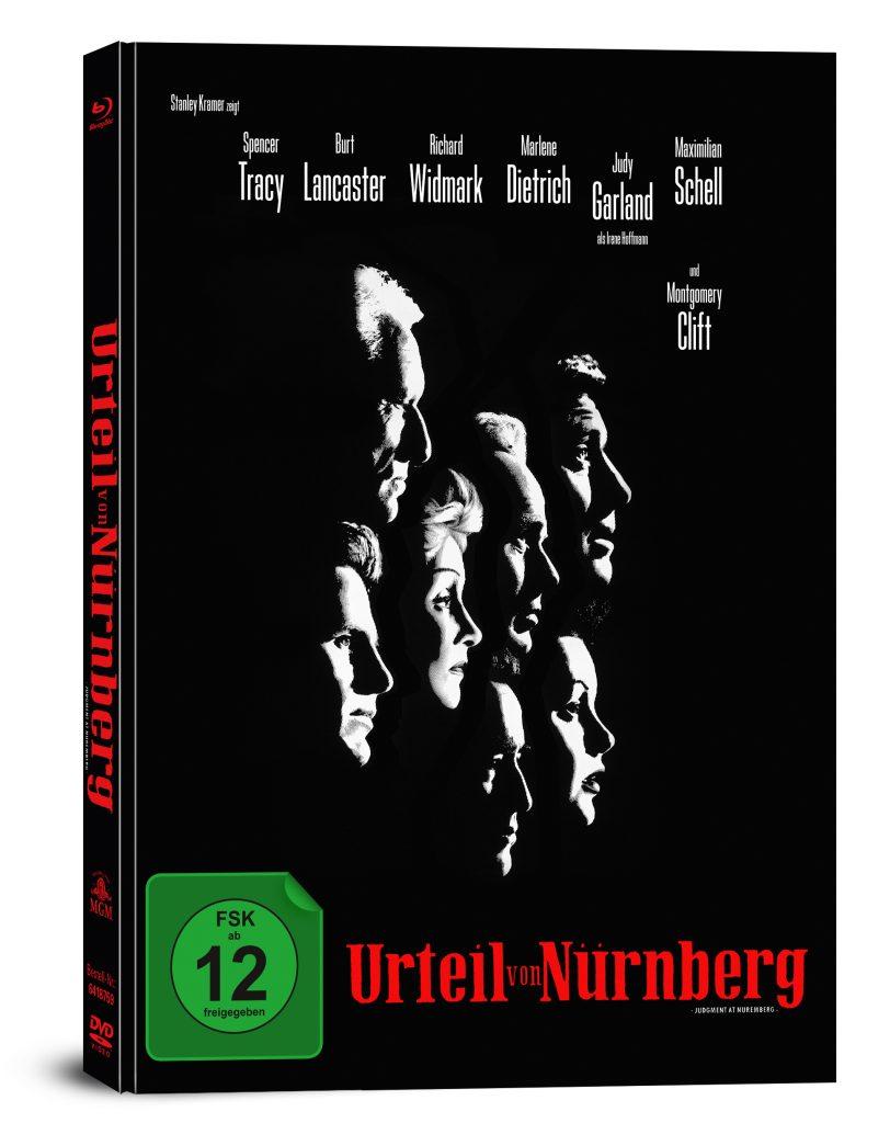 Das Cover des dt. Mediabooks. | DAS URTEIL VON NÜRNBERG © Capelight Pictures