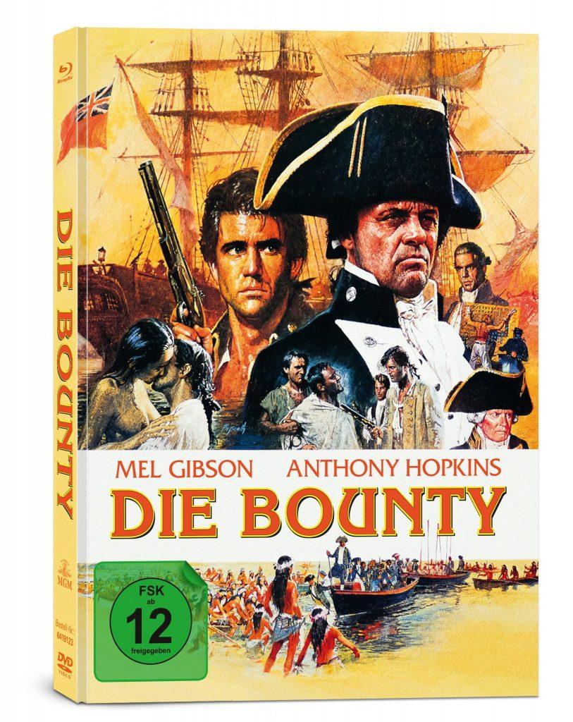 Das Cover des deutschen Mediabooks. | DIE BOUNTY © Capelight Pictures