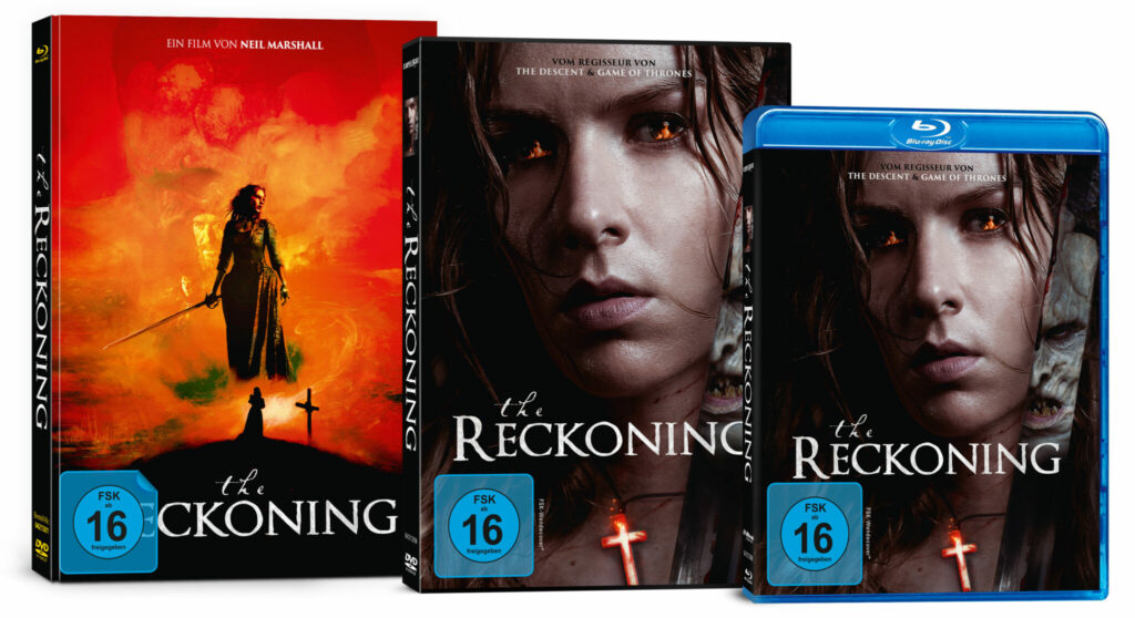 Die verschiedenen Cover zu The Reckoning