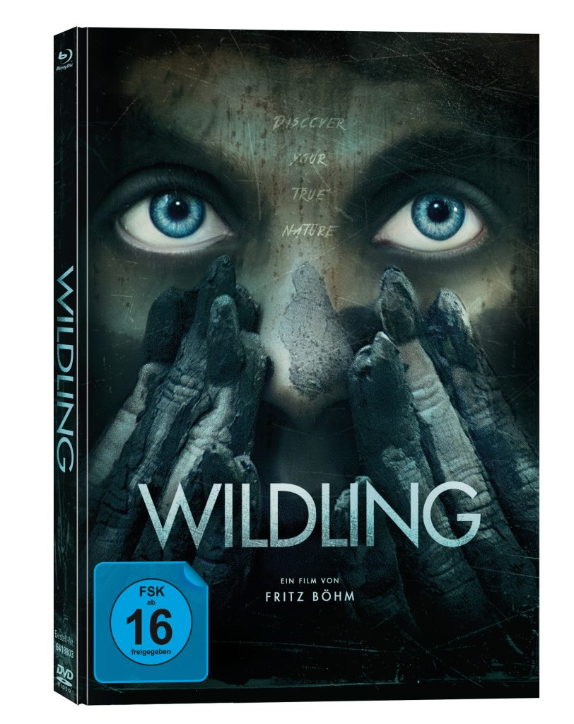 Cover des deutschen Mediabooks | WILDLING © Capelight Pictures