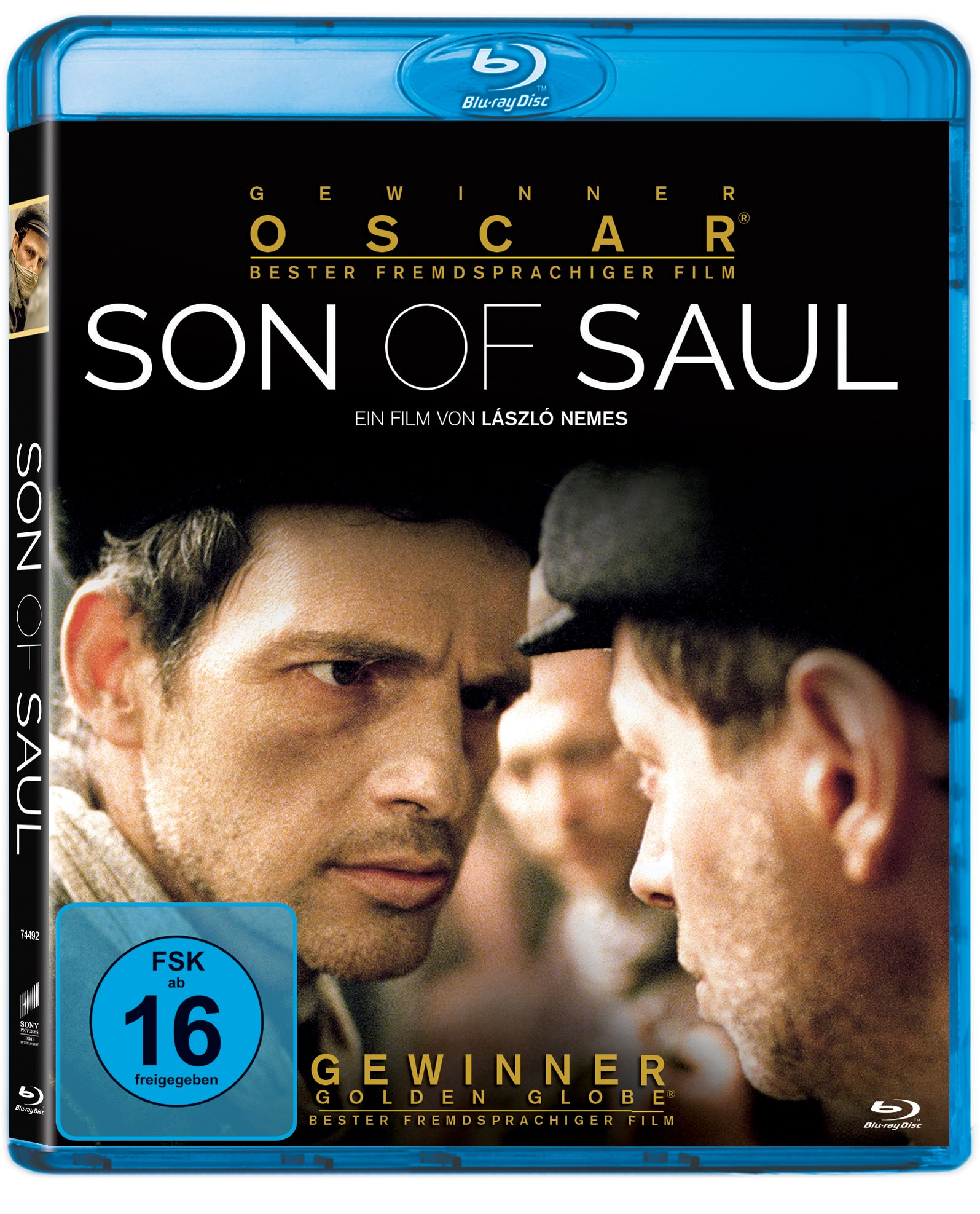 """Das Blu-Ray-Cover von """"Son of Saul"""" © Sony Pictures Entertainment"""