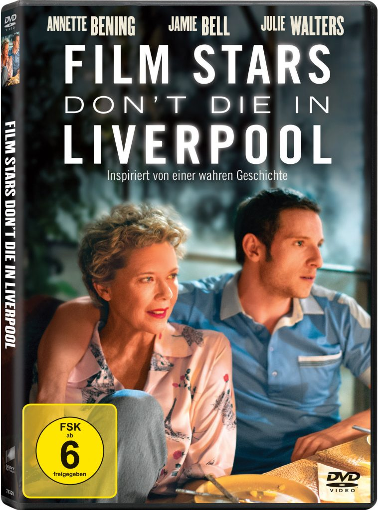 DVD Cover Film Stars Don't Die in Liverpool
