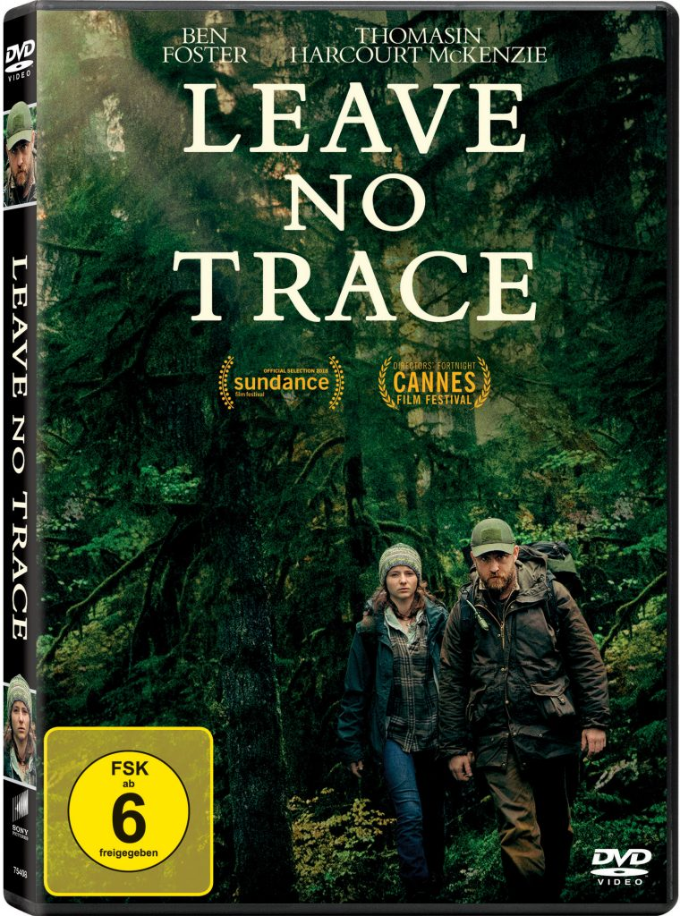 Das DVD Cover von Leave No Trace.© 2018 My Abandonment, LLC. All Rights Reserved.